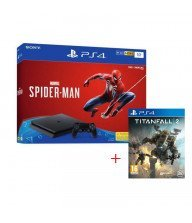 PS4 SONY CONSOLE 1TO SPIDERMAN+titfnall2 Tunisie