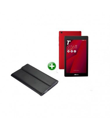 TabletteASUS ZenPad C 7.0 Rouge +Etui
