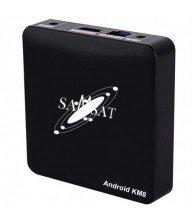 Box Android Samsat KM8 2Go Tunisie