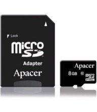 Carte mémoire micro sd secure digital Apacer 8Go