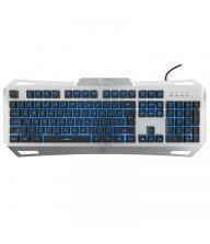 Clavier Gamer WHITE SHARK GK-1623 Gladiator - Argent Tunisie