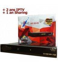 Récepteur SAMSAT 9595 HD - 2 Ans IPTV + 1 an Sharing Tunisie
