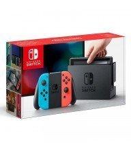 Console Nintendo Switch avec un Joy-Con rouge et bleu Tunisie