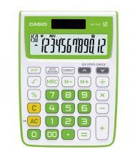 Calculatrice de poche Casio - MJ-12 VC Vert Tunisie