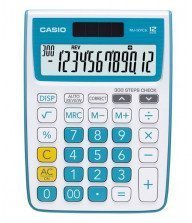 Calculatrice de poche Casio MJ-12 VC Bleu Tunisie
