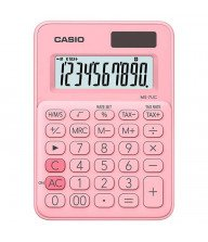 Calculatrice de bureau Casio MS-7UC Rose Tunisie