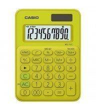 Calculatrice de bureau Casio MS-7UC Jaune Tunisie