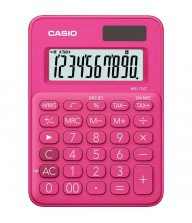 Calculatrice de bureau Casio MS-7UC Rouge Tunisie