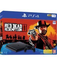 PS4 SONY +RED DEAD REDEMPTION 2 PS4 SLIM Tunisie