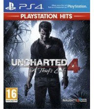 JEU UNCHARTED 4 HITS PS4 Action / +16 ans Tunisie