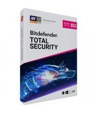 AntiVirus BITDEFENDER Total Security 2019 ( 5 postes ) Tunisie