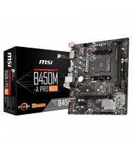 Carte Mére MSI B450M-A PRO MAX DDR4 Micro ATX Tunisie