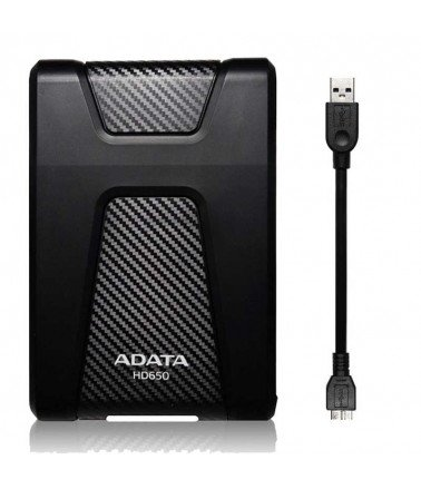 "Disque Dur Externe ADATA HD650 4To 2.5"" Noir"