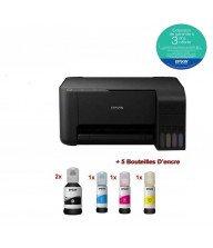 Imprimante Epson EcoTank L3150 (3 en 1) Couleur Tunisie