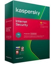 Kaspersky Internet Security 2021 3 postes / 1 an Tunisie