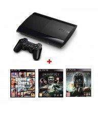 Playstation 3 12GB + 3 Jeux Tunisie