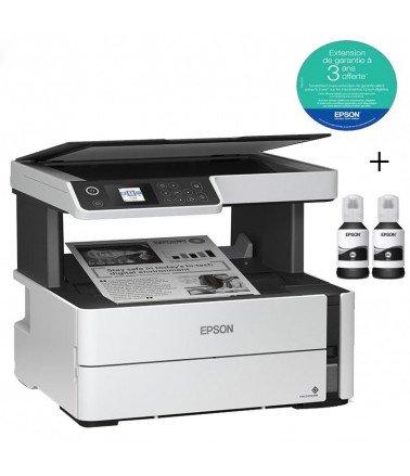 Imprimante EPSON à réservoir intégré ECOTANK ET-M2170 (3en1)