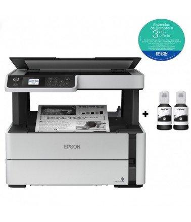 Imprimante Epson à réservoir intégré EcoTank ET-M2140 (3 en 1)