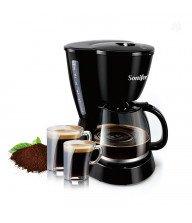 Machine à café électrique filtre 15 tasses en Noir Tunisie
