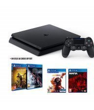 Console PS4 Sony Slim 500 Go + Un jeu PS4 offert au choix Tunisie