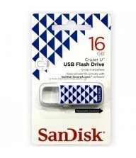 Flash disk Sandisk 16 Go cruzer bleu triangle Tunisie