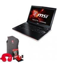 Pc portable Msi GP62 i7 8Go 1To 2Go dédiée