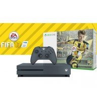Console XBOX ONE Storm Grey Pack FIFA 2017 Tunisie