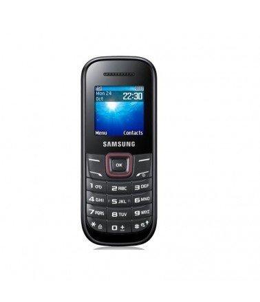 Samsung E1200 Noir & Rouge