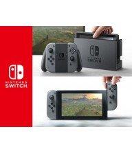 Console Nintendo Switch avec une paire de Joy-Con gris