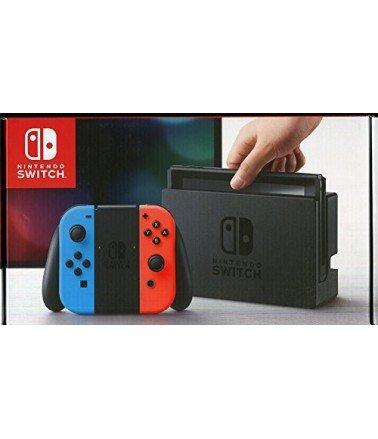 Switch Console Nintendo avec un Joy-Con rouge et bleu