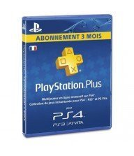 Play Station 4 Sony PS4 Carte-PS-Plus-Abonnement-3-mois Tunisie