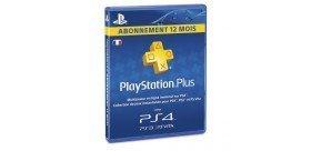 PS4 Carte Playstation plus abonnement 12 mois