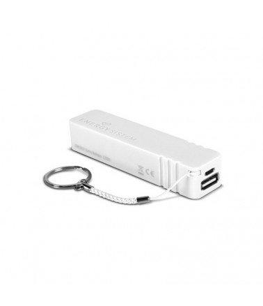 Batterie externe pour recharge pour Tablette & Smartphone 2200 mAh Blanc