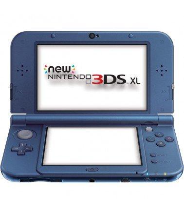 3DS XL CONSOLE BLEU METALLIQUE