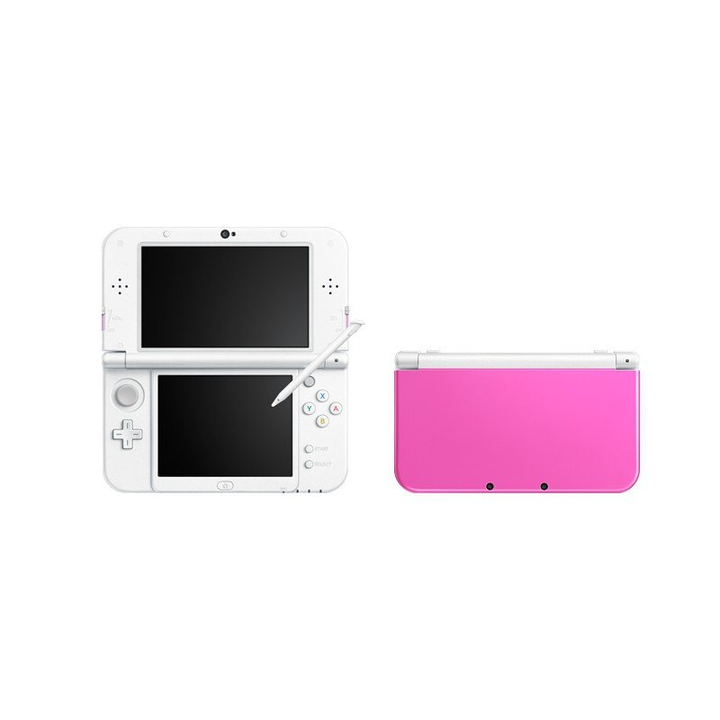 console 3ds xl rose et blanc chez wiki tunisie. Black Bedroom Furniture Sets. Home Design Ideas