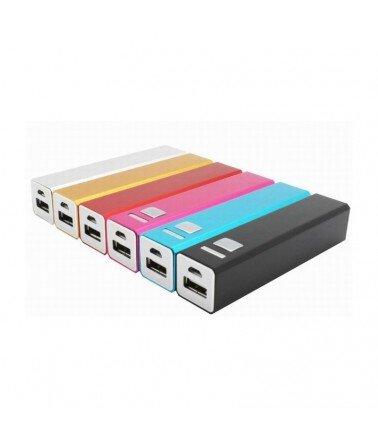 Batterie externe pour recharge Tablette & Smartphone 2200 mAh Blanc