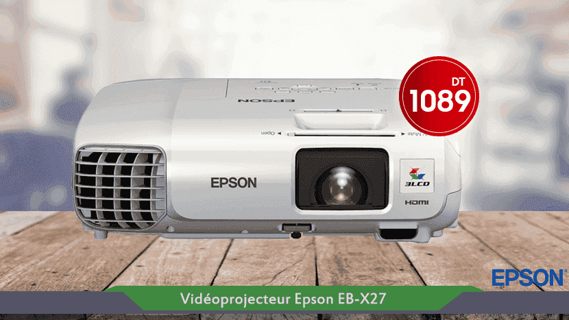vente videoprojecteur Epson Tunisie