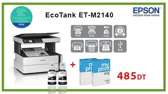 vente ECOTANK ET-M2140 (3 EN 1) wiki , Tunisie