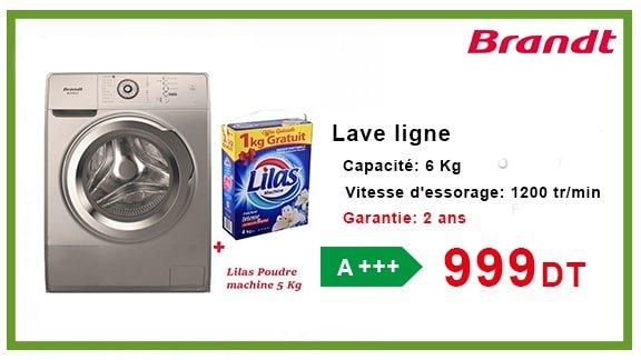 LAVE LINGE BRANDT 6 KG