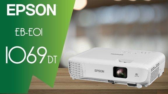VIDÉO PROJECTEUR EPSON EB-E01 3300 XGA